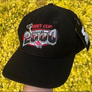 NWT Starter 2000 Grey Cup Calgary CFL hat cap